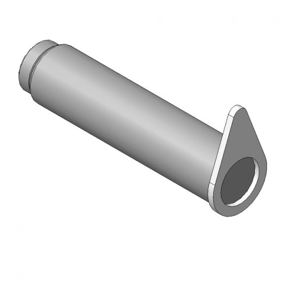 Запчасти, ОМТ-120М-01.00.020 Ось 2шт на манипулятор для леса ОМТ-120-01 (ВЕЛМАШ) детали
