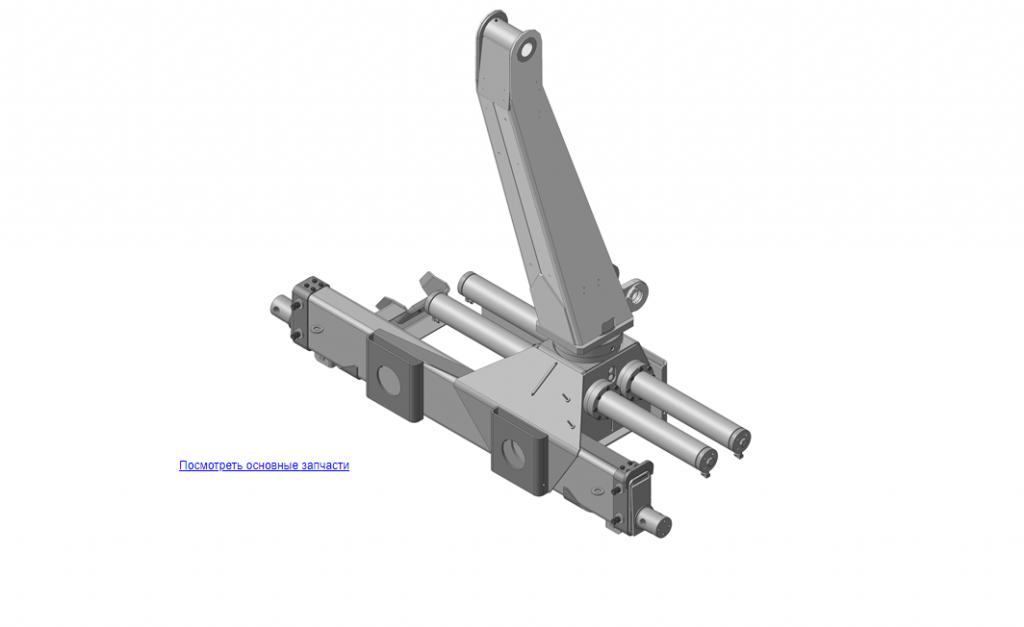 Запчасти, ОМТ-120М-01.01.000В Устройство опорно-поворотное на манипулятор для леса ОМТ-120-01 (ВЕЛМАШ)