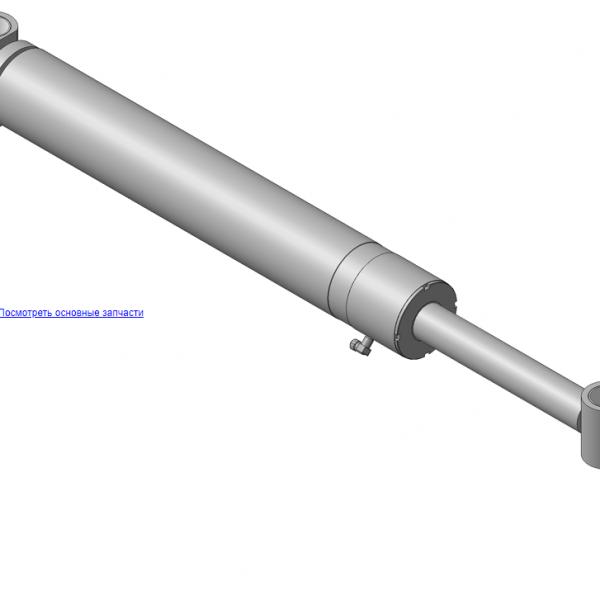 Запчасти, ОМТ-120М-01.05.000 Гидроцилиндр на манипулятор для леса ОМТ-120-01 (ВЕЛМАШ)