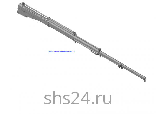 КМУ-31.03.000А Стрела в сборе для КМУ (ВЕЛМАШ) запчасти на манипулятор для КМУ-31 Велмаш