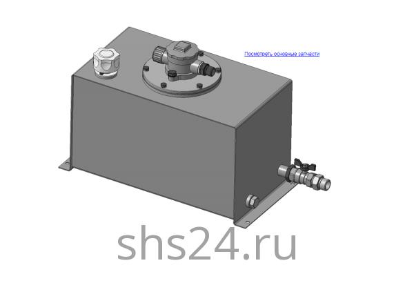 КМУ-31.09.000 Маслобак для КМУ (ВЕЛМАШ) запчасти на манипулятор для КМУ-31 Велмаш