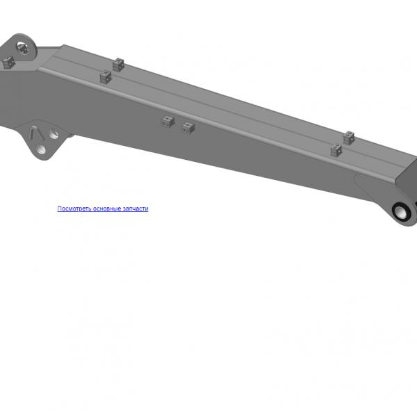 КМУ-55.02.000 Стрела для КМУ (ВЕЛМАШ) запчасти на манипулятор для КМУ-55 Велмаш