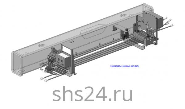 КМУ-55.08.000 Управление для КМУ (ВЕЛМАШ) запчасти на манипулятор для КМУ-55 Велмаш