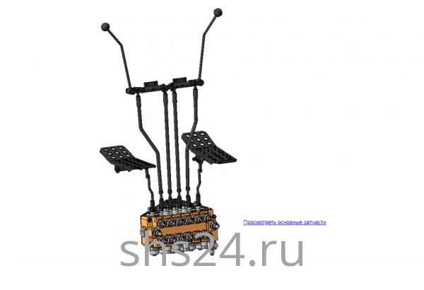 Механизм управления 70-01.10.000А-02 (ВЕЛМАШ) на манипулятор для лома ОМТ-97М