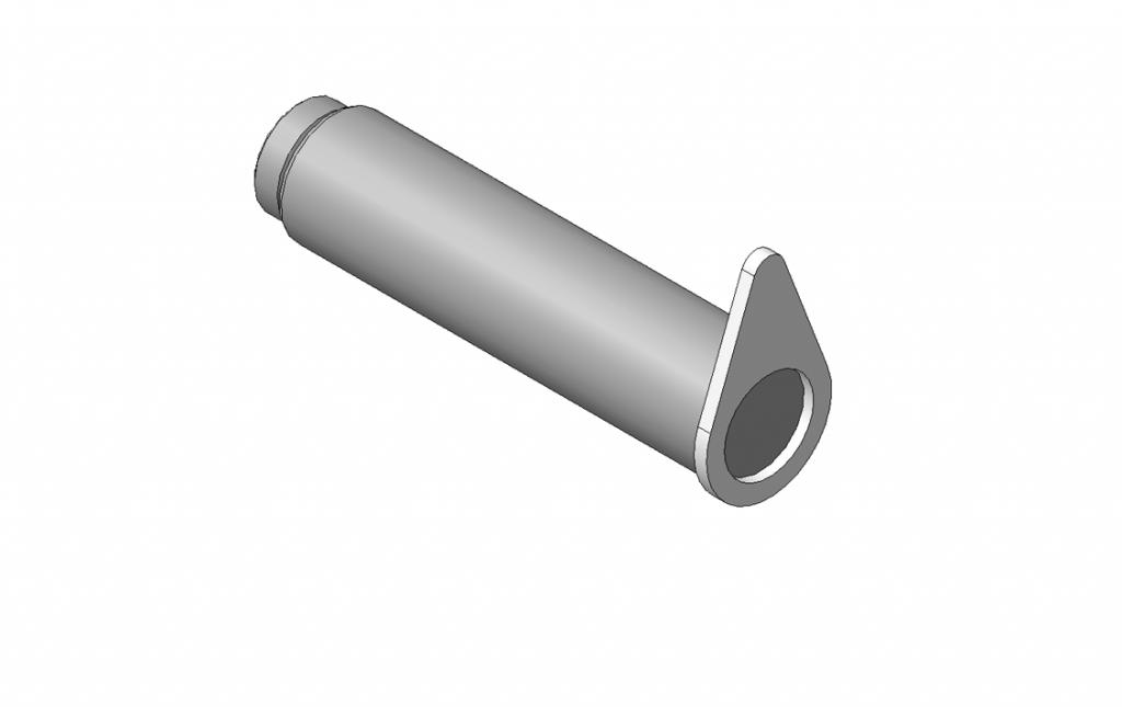 ОМТ-120М-01.00.020 Ось 2шт (ВЕЛМАШ) запчасти на манипулятор для лома ОМТ-120М-01 Велмаш