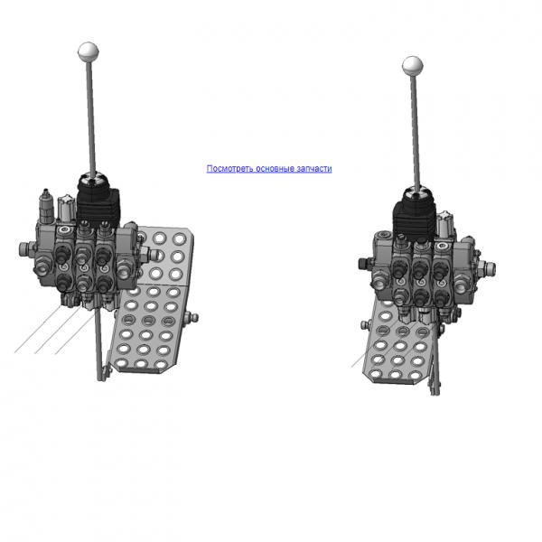 ОМТ-120М-01.07.000Д Механизм управления (ВЕЛМАШ) запчасти на манипулятор для лома ОМТ-120М-01 Велмаш