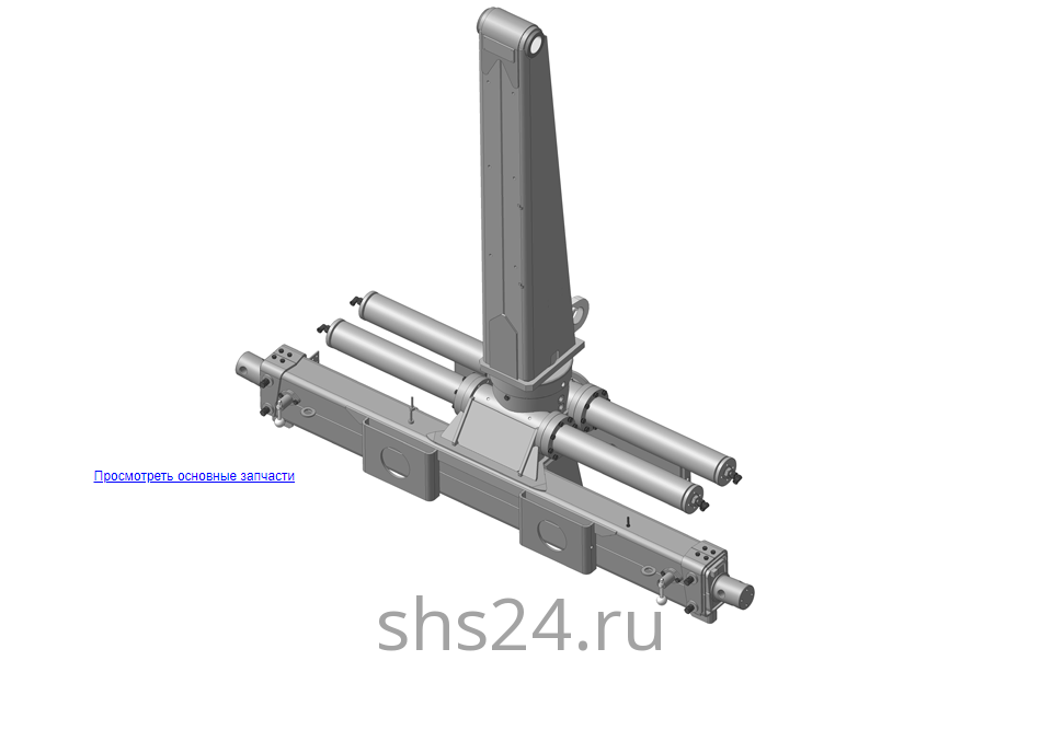Устройство опорно поворотное97.01.000А (ВЕЛМАШ) на манипулятор для лома ОМТ-97М