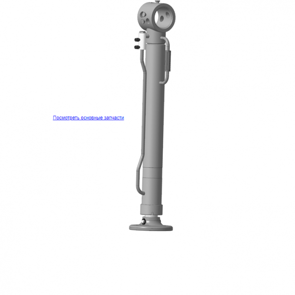 Х.90.07.000 Опора для КМУ (ВЕЛМАШ) запчасти на манипулятор для КМУ-55 Велмаш
