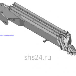 КМУ-130-2.1.03.000 Рукоять в сборе для КМУ (ВЕЛМАШ) запчасти на манипулятор для КМУ-130 Велмаш