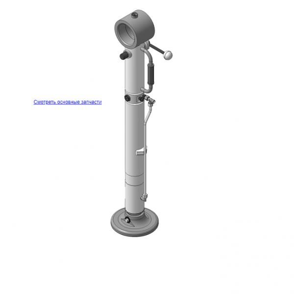 КМУ-130.07.000Б Опора для КМУ (ВЕЛМАШ) запчасти на манипулятор для КМУ-130 Велмаш