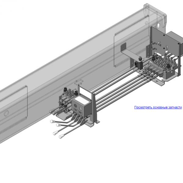 КМУ-130.08.000 Управление для КМУ (ВЕЛМАШ) запчасти на манипулятор для КМУ-130 Велмаш