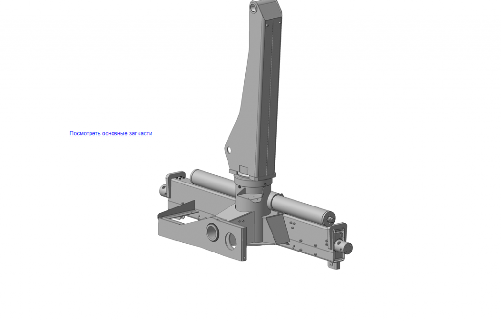КМУ-90.01.000Б Устройство опорно-поворотное для КМУ (ВЕЛМАШ) запчасти на манипулятор для КМУ-90 Велмаш