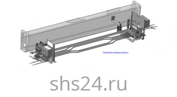 КМУ-90.08.000-04 Управление для КМУ (ВЕЛМАШ) запчасти на манипулятор для КМУ-90 Велмаш