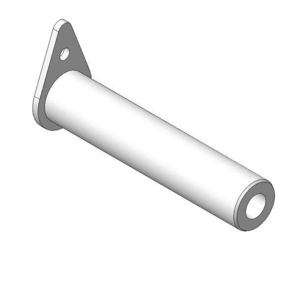 КМУ В-10.13.000 Ось 2шт для КМУ (ВЕЛМАШ) запчасти на манипулятор для КМУ-130 Велмаш