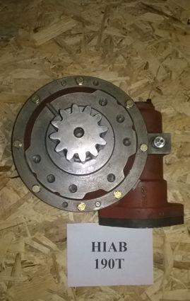 Редуктор поворотный для Крано-манипуляторной установки КМУ Hiab 190Т (Хиаб)
