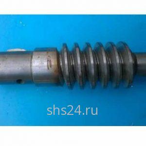 Червячный вал поворотного редуктора для КМУ KANGLIM (Канглим) 1256