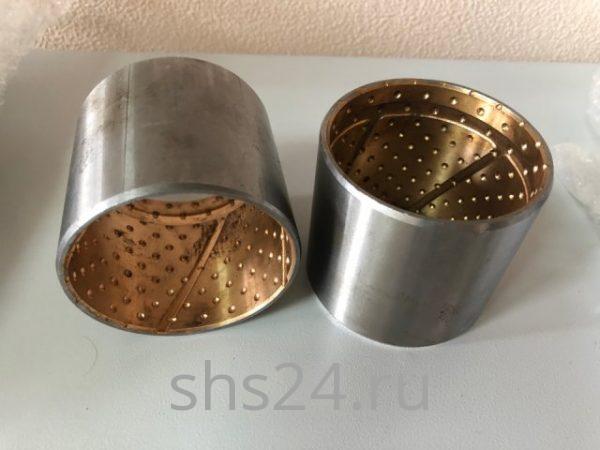Втулки пальца крепления цилиндра подъема стрелы верх для крано-манипуляторной установки Kanglim KS1256 (Канглим)