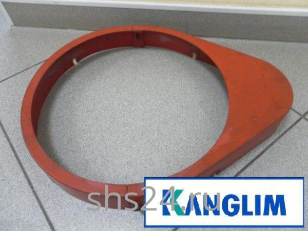Кожух поворотной шестерни для КМУ Kanglim KS1256