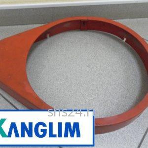 Кожух поворотной шестерни для КМУ Kanglim KS2056