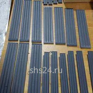 Пластины скольжения для крано-манипуляторной установки Kanglim (Канглим) KS1256комплект на стрелу
