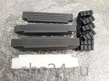 Пластины скольжения комплект на стрелу для КМУ HIAB 160T (Хиаб)