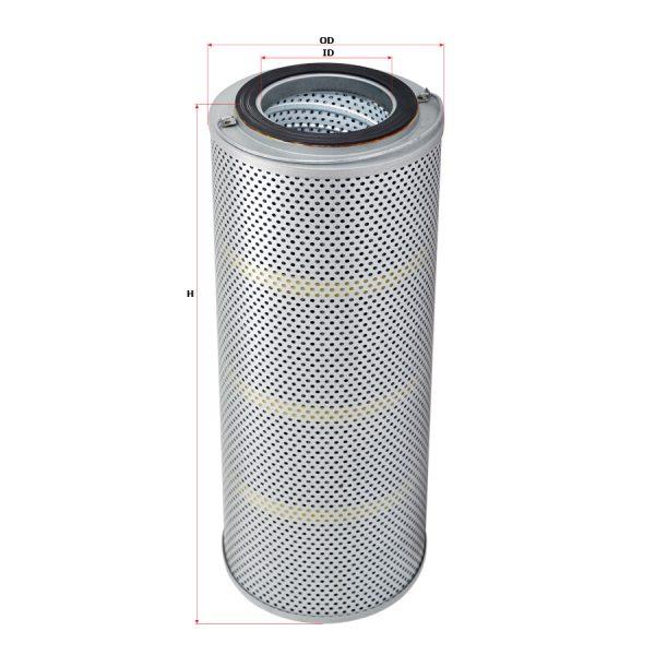 Фильтр гидравлический для крано-манипуляторной установкиKANGLIM(Канглим) KS1256(sakura)