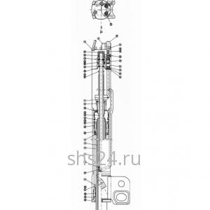 1-ый Гидроцилиндр выдвижения стрелы Kanglim KS 1056