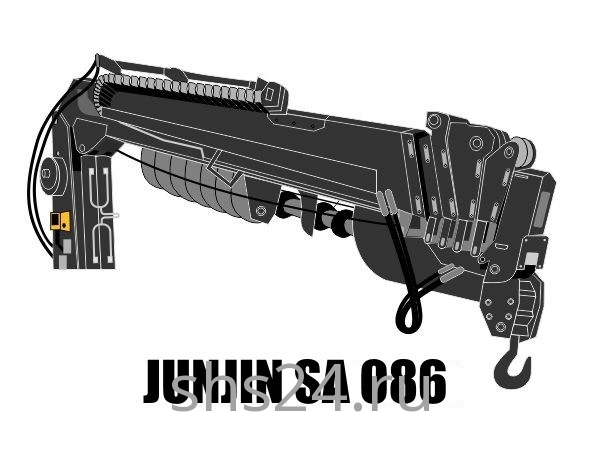 Бурильно-крановая установка JunJin SA 086