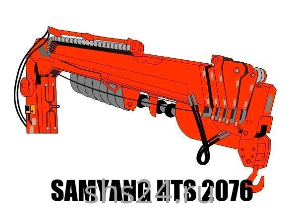 Бурильно-крановая установка SamYang HTS 2076