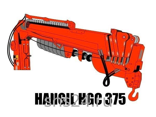 Бурильно-крановая установка Hangil HGC 375