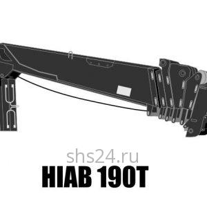 Кран манипулятор (КМУ) HIAB 190T