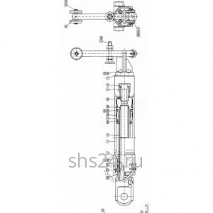 3-й Гидроцилиндр выдвижения стрелы Kanglim KS 1056