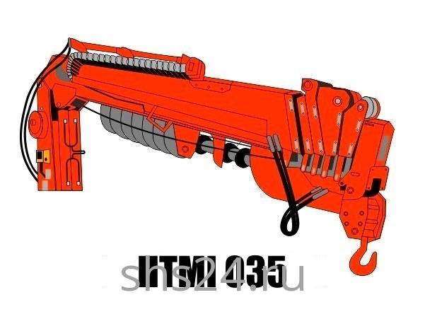 Бурильно-крановая установка HTMI 035