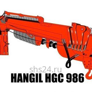 Бурильно-крановая установка Hangil HGC 986