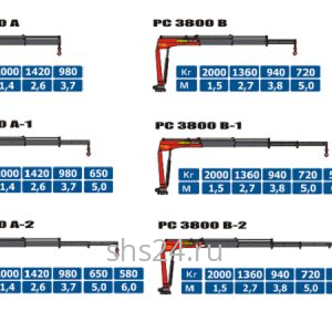 КМУ Palfinger PC 3800