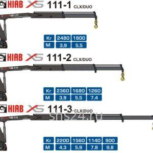 КМУ Hiab XS 111