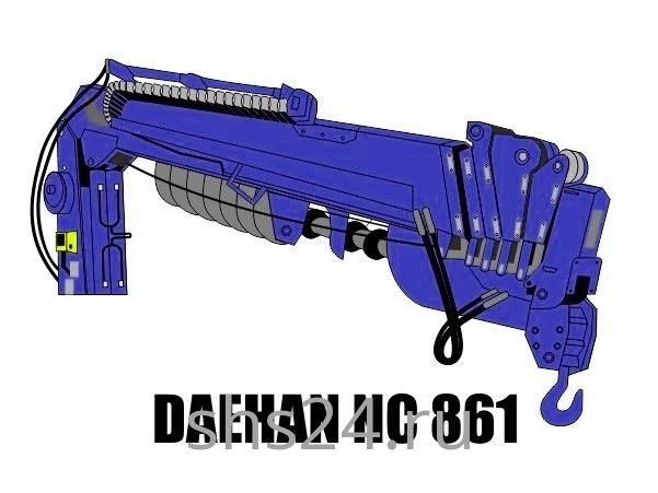 Бурильно-крановая установка Daehan NC 861