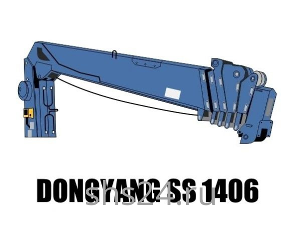 Кран манипулятор (КМУ) Dong Yang SS 1406