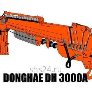 Бурильно-крановая установка DongHae DH Super 3000A