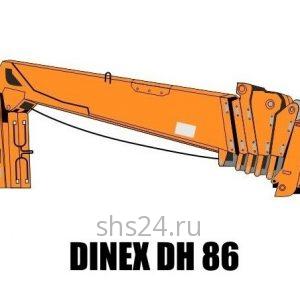 Кран манипулятор (КМУ) Dinex DH 86