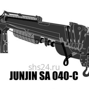 Бурильно-крановая установка JunJin SA 040-C