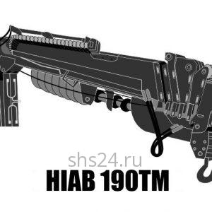 Бурильно-крановая установка Hiab 190TM