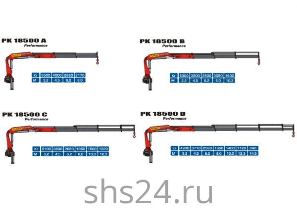 КМУ Palfinger PK 18500