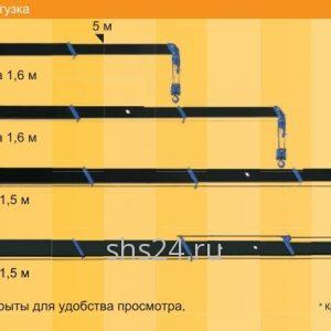 Кран-манипулятор (КМУ) Tadano TM-Z260,TM-ZF260 Series