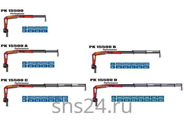 КМУ Palfinger PK 15500