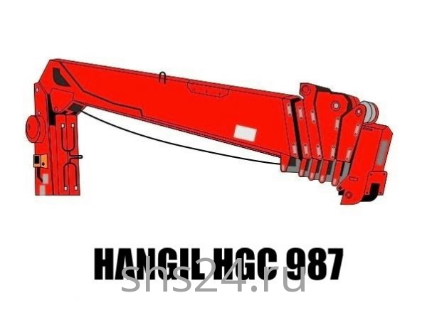 Кран манипулятор (КМУ) Hangil HGC 987