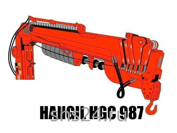 Бурильно-крановая установка Hangil HGC 987