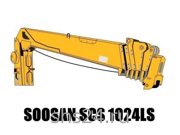 Кран манипулятор (КМУ) Soosan SCS 1024LS