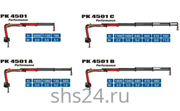 КМУ Palfinger PK 4501HP