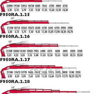КМУ FASSI F 950A